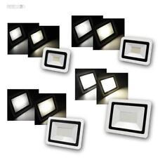 LED Flutlichtstrahler / Außenleuchte Strahler, SMD-SLIM Fluter Wand-Scheinwerfer