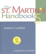 The St. Martin's Handbook 5  & Instru tors Notes  Andrea A. Lunsford -