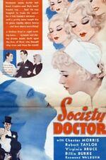 Society Doctor - 1935 - Robert Taylor Chester Morris Vintage b/w Drama Film DVD