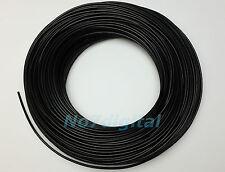 For fiber optic light decoration project black cover PMMA fiber optics 3mmx100m