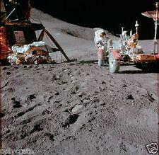 Photo Nasa - Apollo 15 - Véhicule lunaire - Conquête spatiale sur la Lune