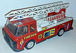 Modellino Camion Vigili Del Fuoco Ellegi Made In Italy 35 Cm Vintage