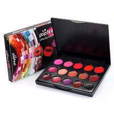 PROFESIONAL 15 Belleza Color Paleta de maquillaje cosmético BRILLO