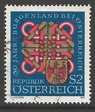 AUSTRIA SG1620 1971 50th ANNIV OF BURGENLAND PROVINCE FINE USED