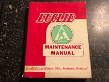 EUCLID SCRAPER MODEL B6UOT-B9SH TS14 FACTORY WORKSHOP MAINTENANCE REPAIR MANUAL