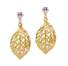Dangle Earrings Leaf Shaker Earring Jewelry Crystal Stud Fashion Charm Ear Women