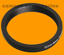 52mm to 46mm 52-46 Stepping Step Down Filter Ring Adapter 52-46mm 52mm-46mm (UK)