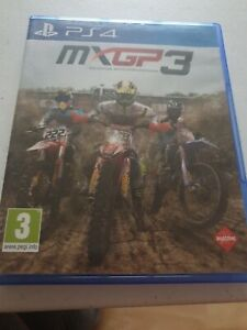 MXGP 3 for PS4 - Boxed motocross game.