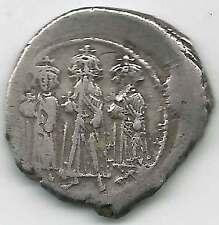 BYZANTINE - HERACLIUS (610-641AD)AR Hexagram /Heraclius,Hercaclius,Heraclonas VF