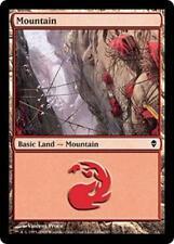 20 Basic Land #245a - SAME ART - Mountain - Zendikar - SP/NM - Magic MTG FTG