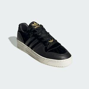 Mens Adidas Originals Rivalry Black Sneaker Athletic Shoe EH0181 Sizes 10 & 11