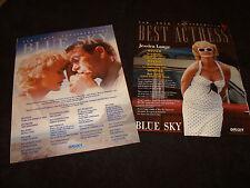BLUE SKY 2 Oscar ads Jessica Lange, Tommy Lee Jones, Amy Locane, Chris O'Donnell
