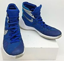 los angeles 679f6 e29b2 NIKE HYPERDUNK 2015 MENS BASKETBALL SHOES 749645-404 Blue Silver SIZE 8.5