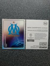 PANINI CHAMPIONS LEAGUE 2011/12 NR. 362 BADGE OLYMPIQUE DE MARSEILLE