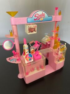 """Sindy Make Up Counter 1992 perfume shop accessories Hasbro 8725 fit 12"""" doll 1:6"""