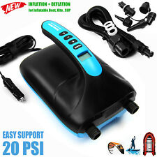 Seamax 20PSI Dual Stage Electric Air Pump for Inflatable Boat and SUP - SUP20D