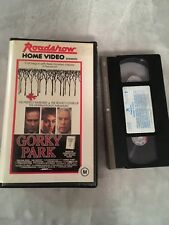 Roadshow Home Video Gorky Park Vhs Clamshell