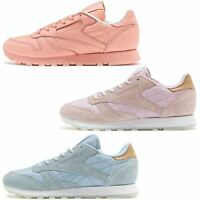 Reebok Classic Leather Sea Worn & Spirit Classic Suede Women Trainers All Sizes