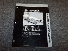 1989 1990 1991 1992 Toyota Pickup A340F Transmission Service Repair Manual 4x4