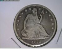 1876 50C Seated Liberty Half Dollar ( 54s234 )
