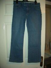 "banana republic Ladies petite bootcut Style Jeans Size 32""x29"" blue denim"