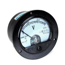 Voltmetro rotonda ACH 0-450V tensione analogica Volt tester di pannello  HK