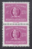 Italy 1984 Concessional Letter Post - 270L Magenta Pair - SG CL920 - MNH (D17G)