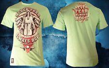 Mafia & Crime Shirt 428 Never fear mint grün Herren Gr. XXXL 3XL