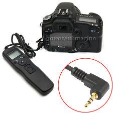 Timer Remote Control Shutter Release Cord for Canon EOS 650D 550D 600D 60D DSLR