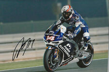 Randy De Puniet MotoGP Hand Signed Power Electronics Aspar ART Photo 12x8 2013 3