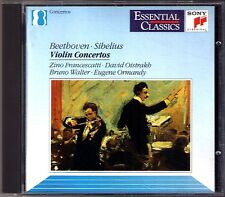 Zino FRANCESCATTI David OISTRAKH: BEETHOVEN SIBELIUS Violinkonzerte CD Ormandy