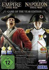 Computer PC GIOCO *** EMPIRE + Napoleone Total War *** Nuovo * NEW