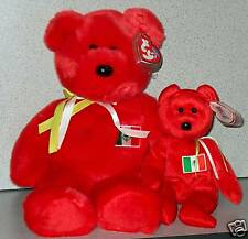 Ty Beanie Buddy And Baby Osito the Mexican Bear LOOK!!!