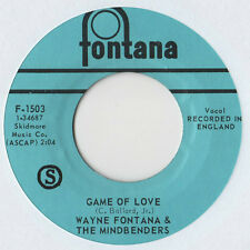 "Wayne Fontana-game of love 7"" single 1965"
