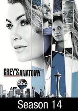 Grey's Anatomy Season 14 (DVD, 2018, 5-Disc Set) (USA SELLER) Free Shipping