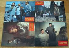 LIEBESNÄCHTE IN DER TAIGA (4 Kinoaushangfotos '67) THOMAS HUNTER / MARIE VERSINI