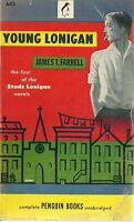 Young Lonigan  James T. Farrell 1947 Vintage Paperback Very Good Minus