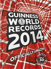 GUINNESS BOOK OF WORLD RECORDS 2014 Hardcover LIKE NEW!