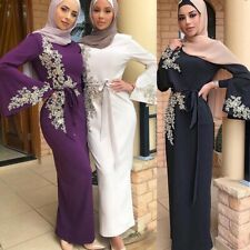 Abaya Dubai Muslim hijab Dress Kaftan Caftan Islam Clothing Dress UK SELLER