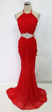 WINDSOR Red Prom Party Formal Evening Gown L - $160 NWT