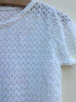 True Vintage Top - Stretch Nylon Lace - Never Worn - Size 12 / 14