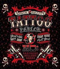 Sailor Betty Shower Curtain Sourpuss Rockabilly Flash Tattoo Parlour Polyester