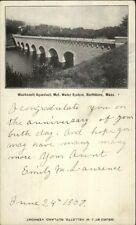 Northboro MA Wachusett Aqueduct c1900 Private Mailing Card Postcard