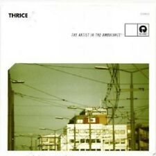 """THRICE """"THE ARTIST AND THE AMBULANCE"""" CD NEW+"""