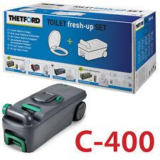 THETFORD FRESH UP SET C400 CASSETTE CAMPING ABWASSER FÄKALIENTANK WC NEU
