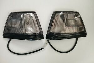 FITS HONDA CIVIC SEDAN 1986-1987 Front Side Marker Lights Left And Right Pair