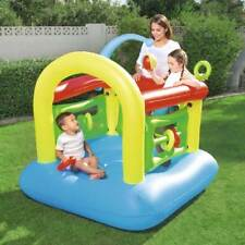 Bestway 1.42m x 1.42m x 1.65m Kiddie Inflatable Play Centre Kids Jumping Castle