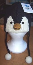 Kids Peppy The Penguin Pilot Hat by Knitwits - AK1029