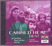 ZOUNDS - CANNED HEAT - Let`s Work Together - Best - rare audiophile CD 1998