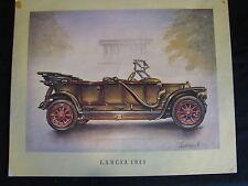 Art Print Lancia 1911 (printed around 1965) (JS) #1